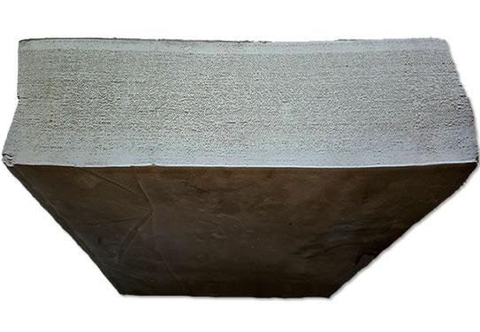 White grey EPDM reclaimed rubber 2