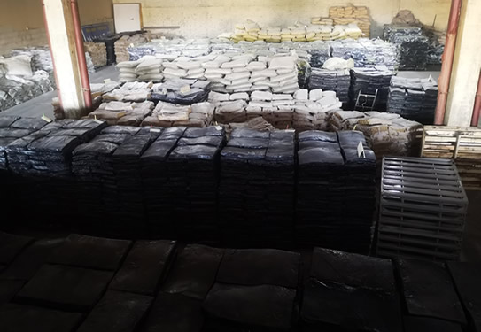 High strength fine tire reclaimed rubber T1 5