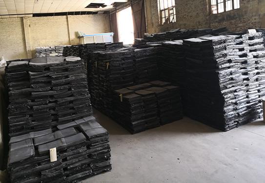 Environmentally tire top reclaimed rubber 5