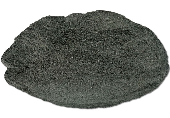 Variegated tire rubber powder 1