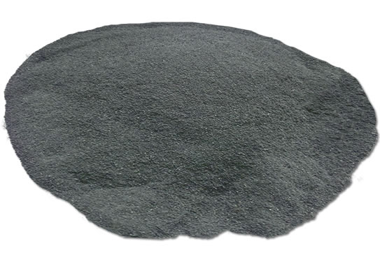 Variegated tire rubber powder 2