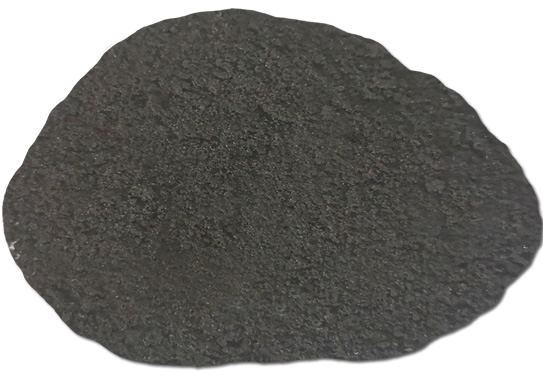 Variegated tire rubber powder 3